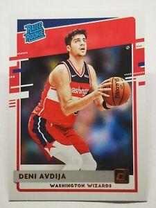 Panini Donruss 2020-21 N6 NBA Deni Avdija Rated Rookie #205 Washington Wizards