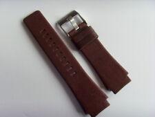 DIESEL Original Ersatzband Lederarmband DZ1527 DZ1528  Uhrband braun watch strap