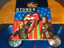 """THE ROLLING STONES """"NO FILTER AT SOLDIER FIELD"""" - 3LP - blue vinyls"""