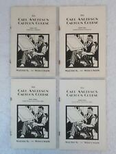 THE CARL ANDERSON CARTOON COURSE 4 Volume Set 1929 Madison, WI
