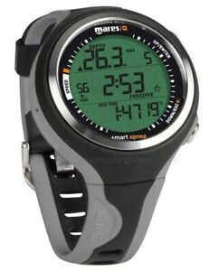 MARES Smart Apnea Computer Underwater Watch Grey Dive Computer Grey Colour