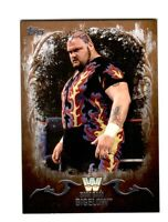 WWE Bam Bam Bigelow #43 2016 Topps Undisputed Bronze Parallel Card SN 1 of 99