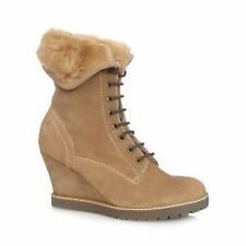 Faux Suede Women's Ankle Boots