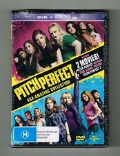 Pitch Perfect / Pitch Perfect 2 : Dvds (2-Movie Collection) Brand New & Sealed