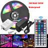 5M RGB 5050 Waterproof LED Strip light SMD 44 Key Remote 12V EU Power Full Kit