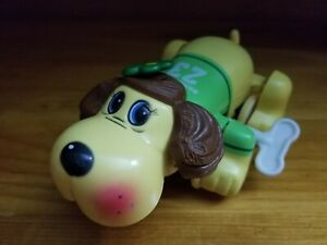 Vintage Pound Puppies Moving Wind Up Bright Eyes Toy Dog (TONKA, 1986) Arco