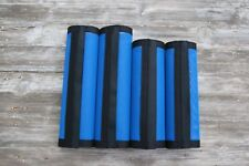 Fly Protection  Leg Wraps/Leggings For Horses, Straight Fly Boots Set Of 4,Blue