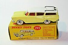 Dinky 193 Rambler Cross Country Station Wagon, Excellent in Original Box
