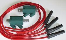 Suzuki GSX1100G shaft  3 ohm Dyna Performance Ignition Coils & Taylor Leads.red