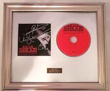 SIGNED/AUTOGRAPHED ENTER SHIKARI -LIVE IN THE BARROWLAND FRAMED CD PRESENTATION