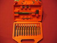 WINCHESTER GUNSMITH PROFESSIONAL GRADE BRASS + STEEL PUNCH SET WITH HAMMER