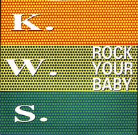 """KWS rock your baby/konfusion NWK 54 uk network 1992 7"""" PS EX/EX k.w.s."""