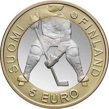 FINLANDE 5 Euros Championnat du Monde de Hockey sur Glace 2012 UNC