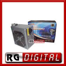 ALIMENTATORE 450W 450 W 20+4 20 20/24 PIN ATX SATA PCI linq ventola 12cm
