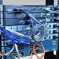 Cisco Complete CCNA CCNP home Lab  Layer 3 Switch 2611XM 3550