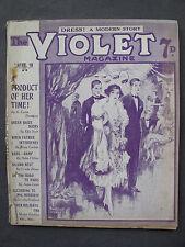 UK Pulp Magazine - THE VIOLET MAGAZINE  No. 80  Sep 18, 1925