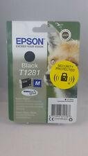 Epson T1281 Black Ink Cartridge for Stylus SX235w SX425w SX130 SX435w Sealed