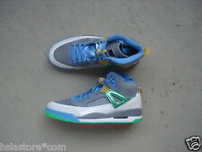 Nike Air Jordan Spiz'ike 45 Stealth/Poison Green-University Blue-Blitz Blue