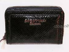 IITALIAN DESIGNER ERMANNO SCERVINO BLACK MEDIUM SCERVINO STREET CLUTCH WALLET