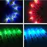 12pcs LED Lighted Arrow Compound Recurve Bow Archery Hunting Sport Nocks Outdoor