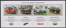 GB QEII MNH MINIATURE SHEET BRITISH AUTO LEGENDS - THE WORKHORSES 2013 SG MS3518