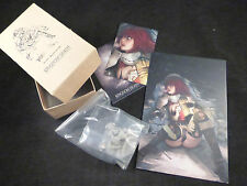 Kingdom Death Female Survivor Beyond the Wall Resin Kit - Boxed + Art Card