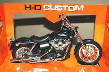 Harley-Davidson Plastic Diecast Motorcycles