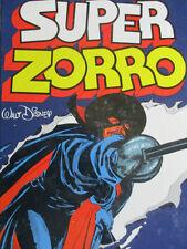SUPER ZORRO Bandes dessinées 1980 Walt Disney