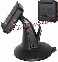Genuine OEM Garmin Dezl 760LMT GPS Cradle Bracket Clip and Suction Cup Mount NIB