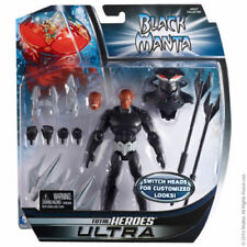 DC Universe Total Heroes ULTRA Black Manta Deluxe Figure Mattel DCU New