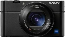 Sony - Cyber-shot DSC-RX100 V 20.1-Megapixel Digital Camera - Black