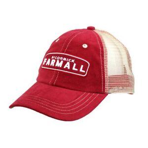 McCormick Farmall Red and Cream Mesh Back Cap A2827