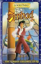 SINBAD from GOODTIMES - VHS - NTSC - N&S - Never played! - Original USA release