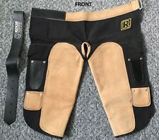 **Annual Clearance** Farrier Apron Suede Leather and Canvas Chaps