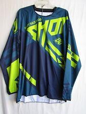 SHOT race gear RACEWAY motocross jersey men's EXTRA LARGE A0F-12B1-B04-11