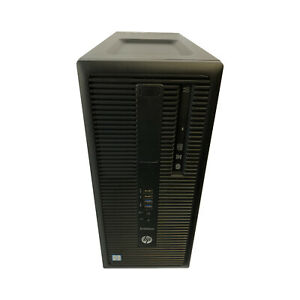 HP PC EliteDesk 800 G2 TWR Core i5-6500 @ 3,2 GHz 8GB RAM 240GB SSD Computer TOP