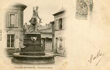 Carte VILLERS COTTERETS Fontaine de Diane