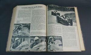 Illustrierter Motorsport 1956 alle Zeitschriften in einem Buch Jahresinhalt DDR