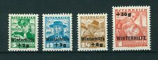 Austria 1935 Winter charity full set of stamps. Mint Sg 778 -781