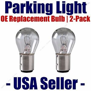 Parking Light Bulb 2-pack OE Replacement Fits Listed Chrysler Vehicles - 2057