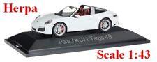 Porsche 911 Targa 4S blanche - HERPA -  Echelle 1/43