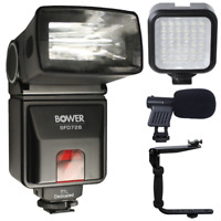 i-TTL Flash with Accessory Bundle For Nikon D7100 , D7200 and D7500