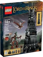 LEGO Il Signore degli Anelli 10237 Torre di Orthanc Nuovo in scatola sigillata (in pensione) consegna espressa