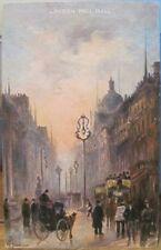 UK PC LONDON PALL MALL England Illus Art M Johnson Raphael Tuck Gateways Oilette