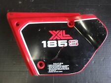 Honda XL 185 Off 1981 XL185S airbox cover left