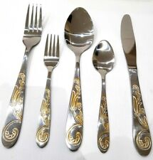 Flatware Cutlery Set 30 Piece Stainless Steel  Service for 6 Persons.