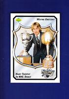 Wayne Gretzky Hockey Heroes HOF 1992-93 Upper Deck UD Hockey #12 (MINT) Oilers
