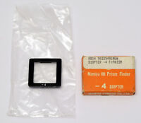 Mamiya RB RB67 Prism Finder -4 diopter FREE SHIPPING