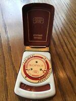 Zeiss Ikon Ikophot Selenium Exposure Light Meter & Case