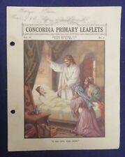 1938 CONCORDIA PRIMARY LEAFLETS Vol 28 No 2 Lesson 18 CONCORDIA PUBLISHING HOUSE
